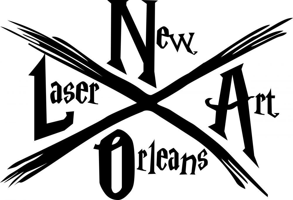 New Orleans Laser Art